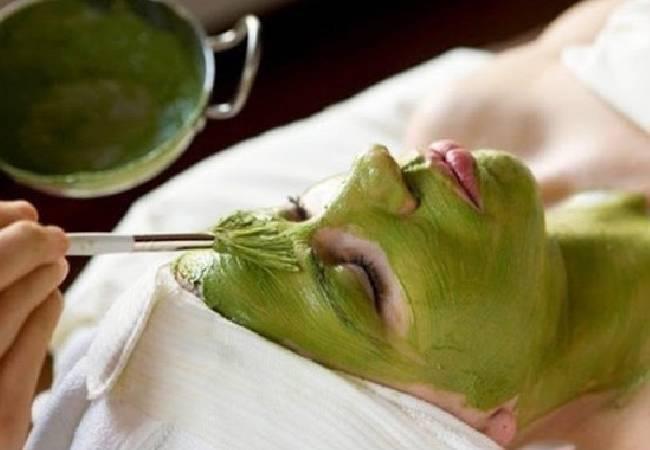 Mascarilla de Soja Verde
