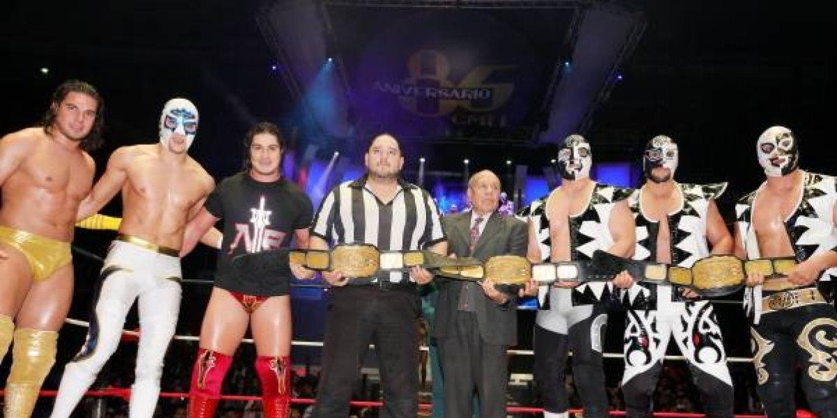 La Nueva Generación Dinamita retiene título de tercias en la Arena México