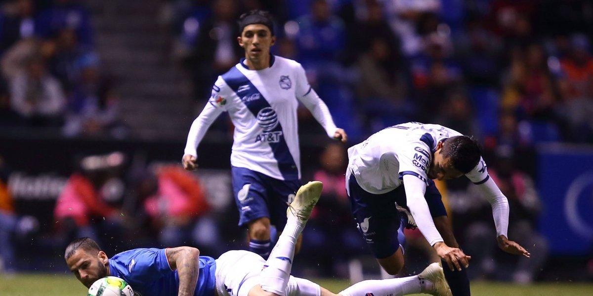 Puebla 'trollea' a Cruz Azul en redes sociales