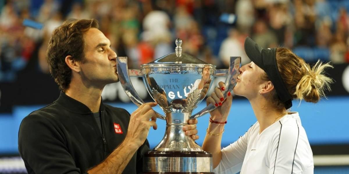 VIDEO. Suiza y Federer revalidan su título en la Copa Hopman