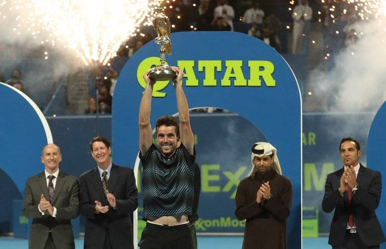 Roberto Bautista gana el torneo de Doha 2019
