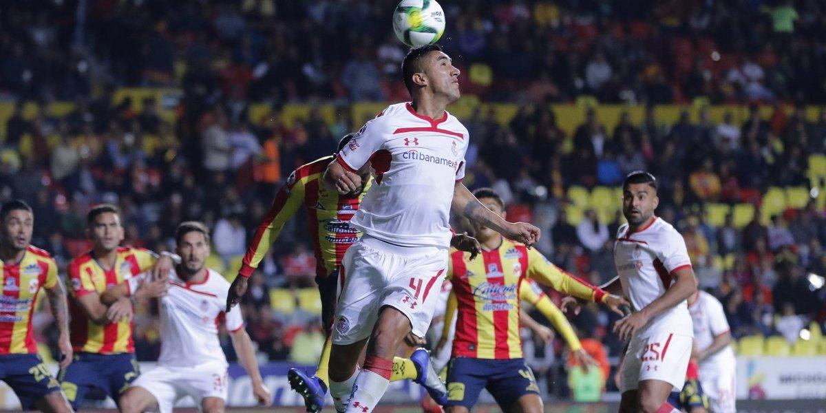 Osvaldo González festejó con Toluca ante el Morelia de Rodrigo Millar
