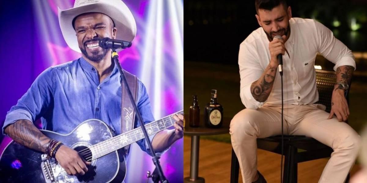 Alexandre Pires discute com Leo Dias ao vivo no SBT: 'Você errou'