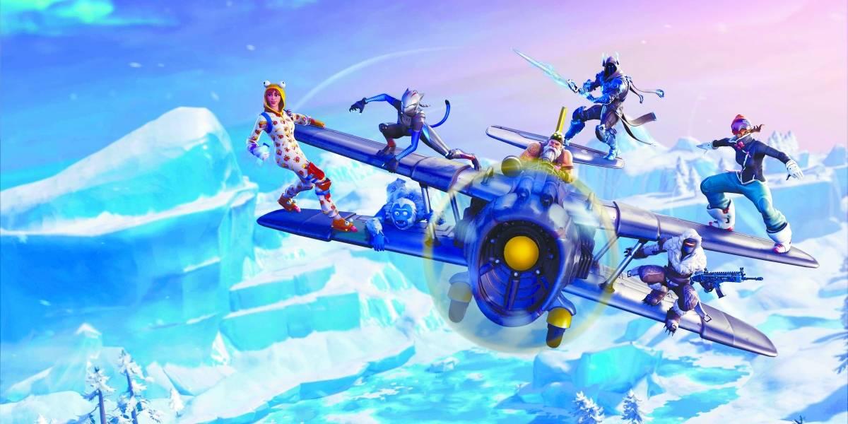 'Fortnite' apuesta por las superficies nevadas