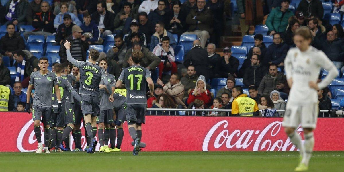 Atlético salva un empate y Real Madrid pierde y extiende mala racha