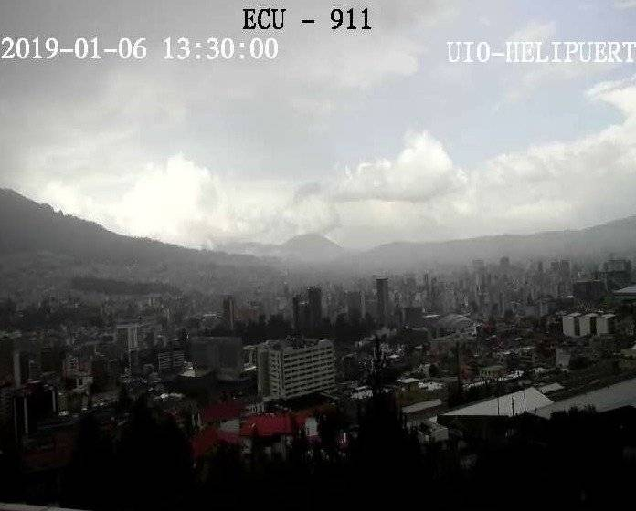 Se registran lluvias en el centro y norte de Quito ECU 911