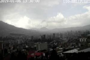 Se registran lluvias en el centro y norte de Quito