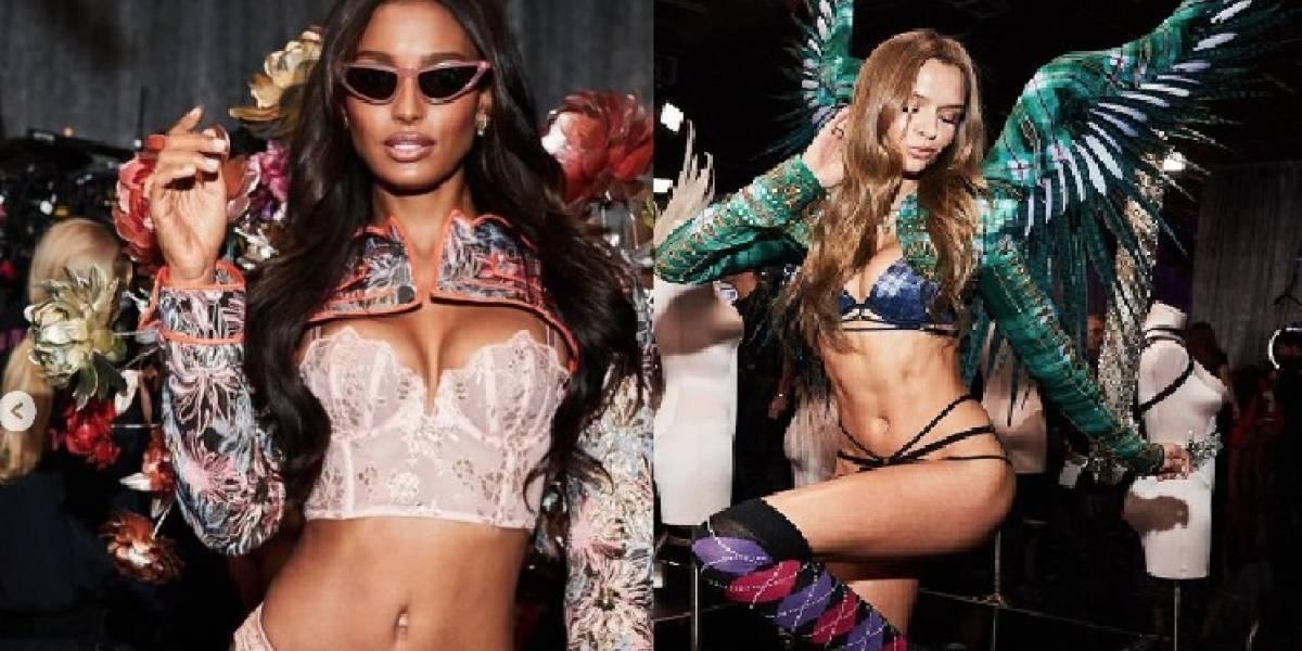 Los ángeles de Victoria's Secret que están de vacaciones en Ecuador