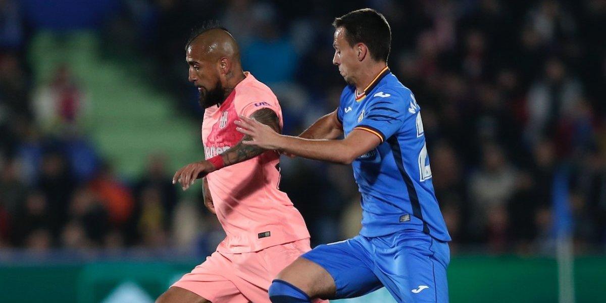 Minuto a minuto: Arturo Vidal es titular en la victoria del FC Barcelona ante Getafe