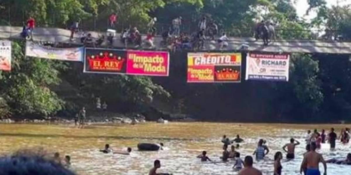 Colapso de un puente peatonal en Caquetá deja 8 personas heridas