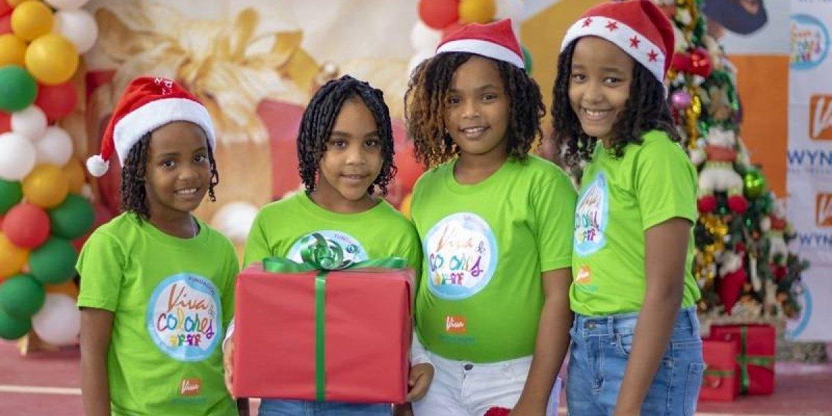 #TeVimosEn: Niños de la Fundación 'Viva de Colores' celebran emotiva fiesta de fin de año