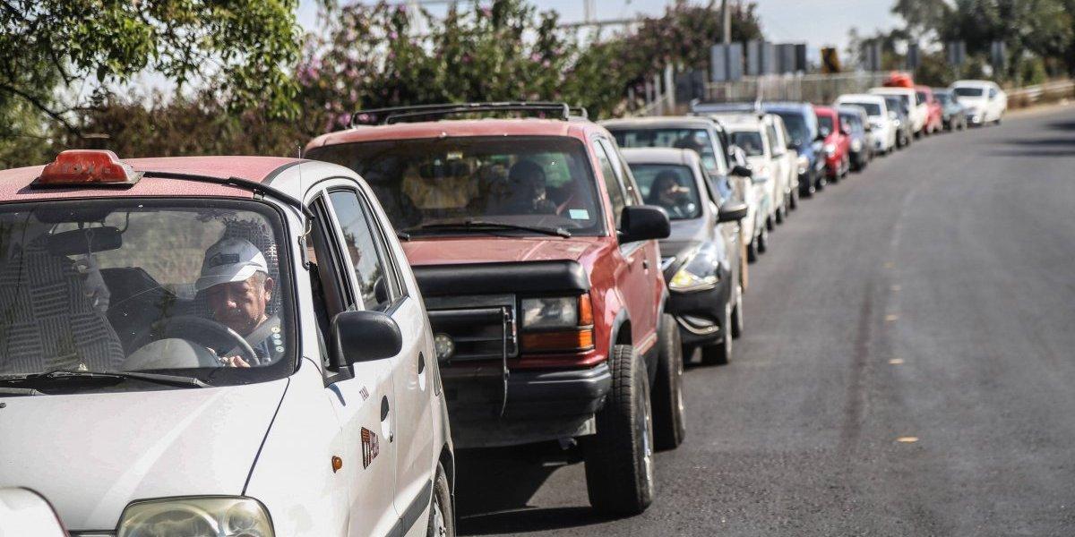 Compras de pánico por desabasto de gasolina en al menos seis estados