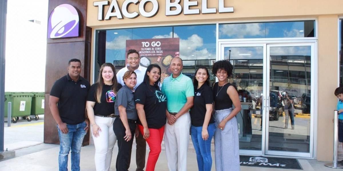 #TeVimosEn: Inauguran sucursal de Taco Bell en San Isidro