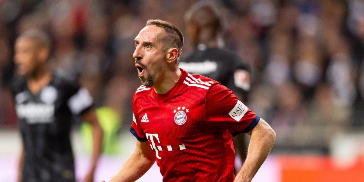 Bayern Múnich sanciona a Ribery tras fuertes insultos contra sus detractores