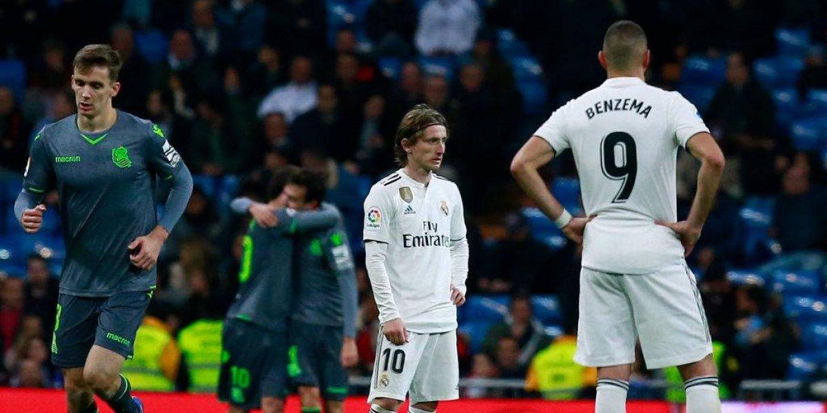 Real Madrid sigue perdiendo terreno en la Liga y sufrió la primera derrota del año