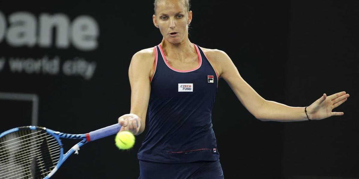 Karolina Pliskova gana su segundo torneo de Brisbane