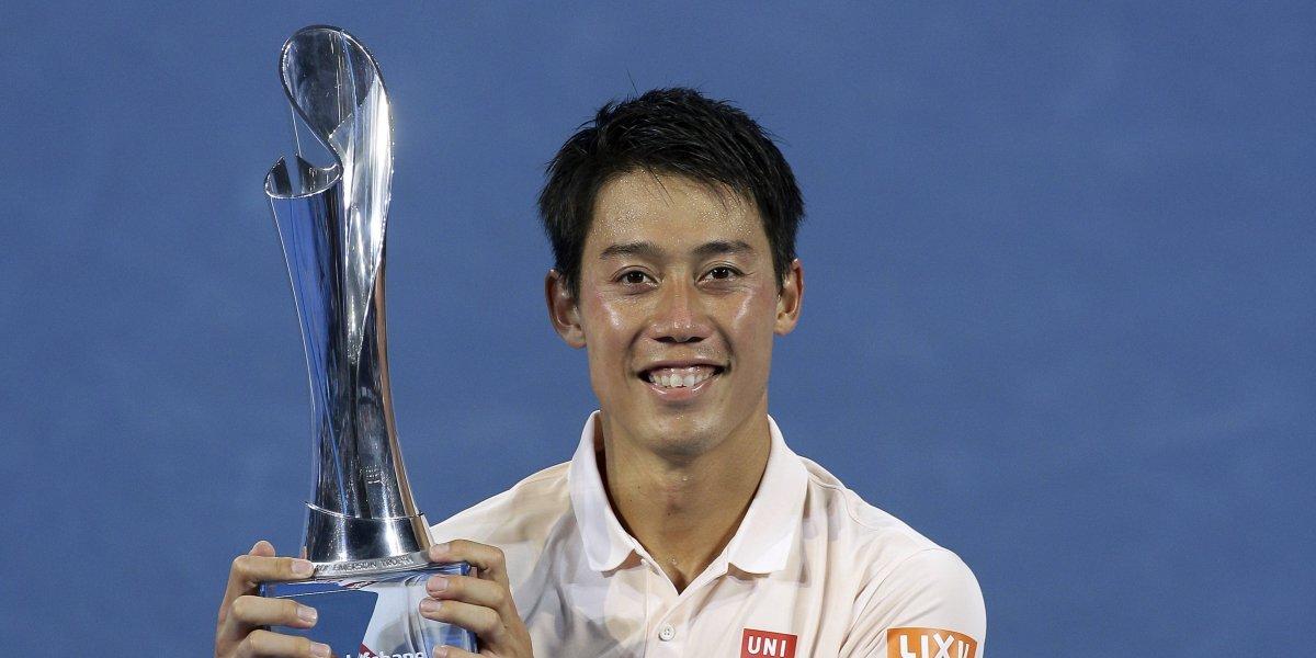 Nishikori se corona ante Medvedev y corta su mala racha de nueve finales perdidas