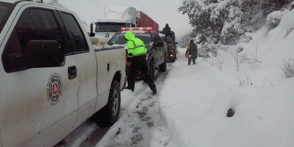 Por nevada severa, declaran emergencia para 38 municipios de Sonora