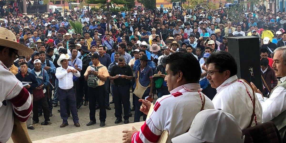 Gobierno de AMLO reconoce cambio de régimen electoral en Oxchuc, Chiapas