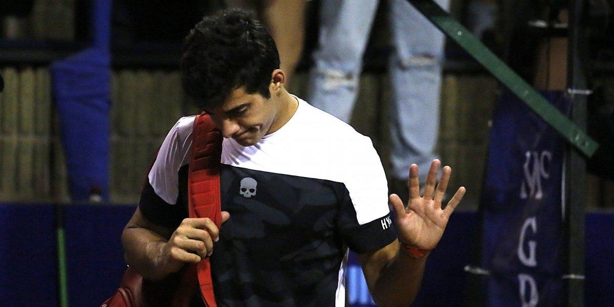 Christian Garín vio mermada su ilusión de ingresar al cuadro principal del ATP de Sydney
