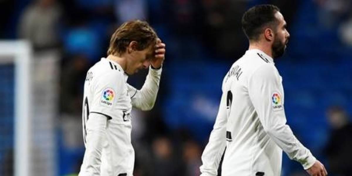 Real Madrid en caída libre: 0-2 de local