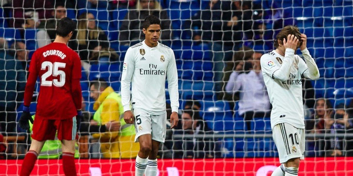 Real Madrid cae en casa ante la Real Sociedad de Héctor Moreno