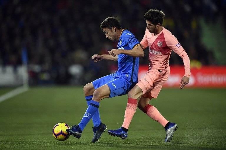 Con el triunfo ante el Getafe, el Barcelona no solo continúa de líder, sino que se distancia aún más, de sus perseguidores y del Real Madrid. AFP
