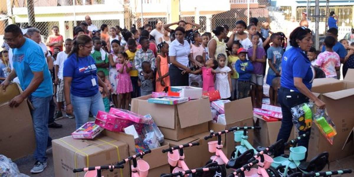 Distribuyen más de 300 mil juguetes a niños de escasos recursos