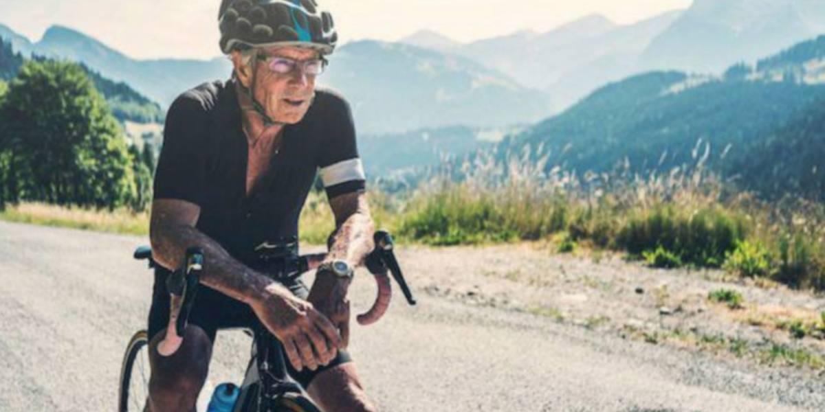 Ciclista de 90 años dio positivo en control antidoping