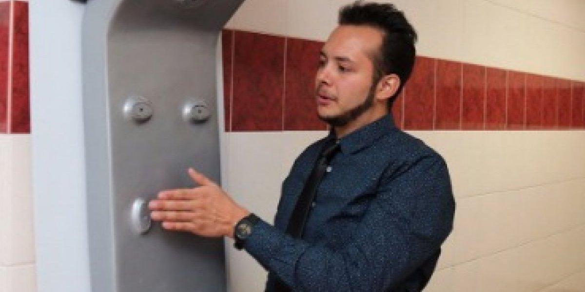 Egresado del IPN crea secador corporal para disminuir uso de toallas
