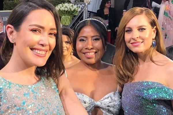 Yalitza Aparicio en los Golden Globes 2019