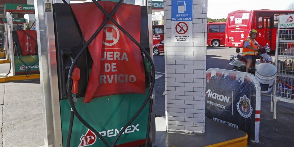 Ciudadanos reportan desabasto de gasolina en la CDMX