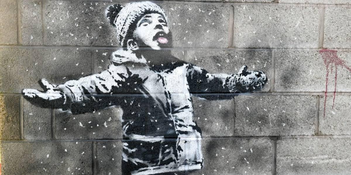 """""""Obra que Banksy fez em minha casa virou uma bomba em minha vida"""""""