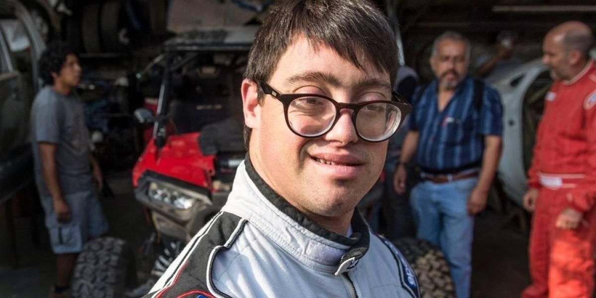 Lucas Barrón, el peruano que se convirtió en el primer competidor con síndrome de Down en el Dakar