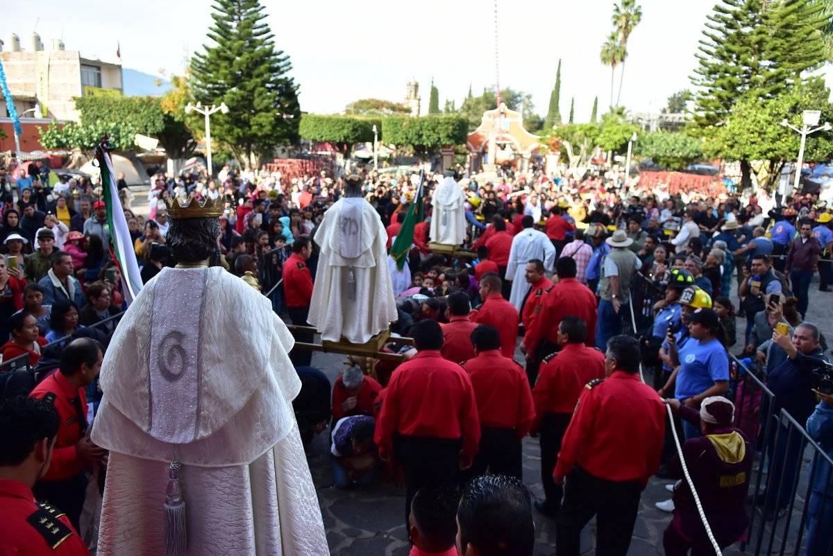 Realizan los Reyes Magos su peregrinación por Cajititlán