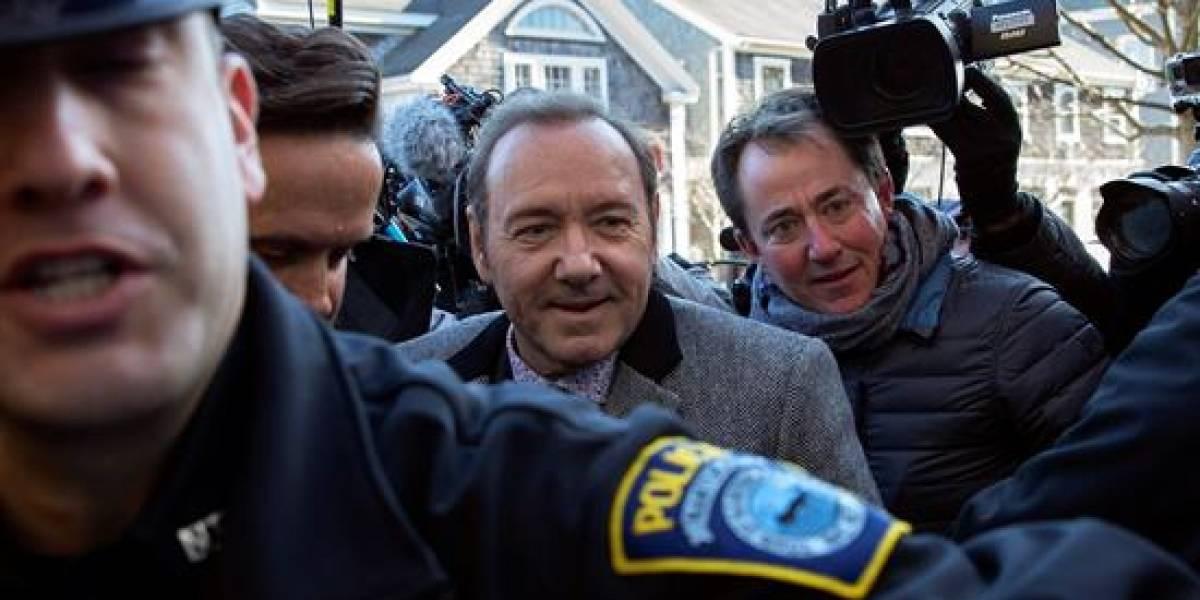Kevin Spacey queda en libertad luego de ser inculpado de abuso sexual