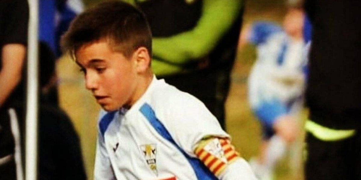Muerte de futbolista de 12 años consterna al futbol de España