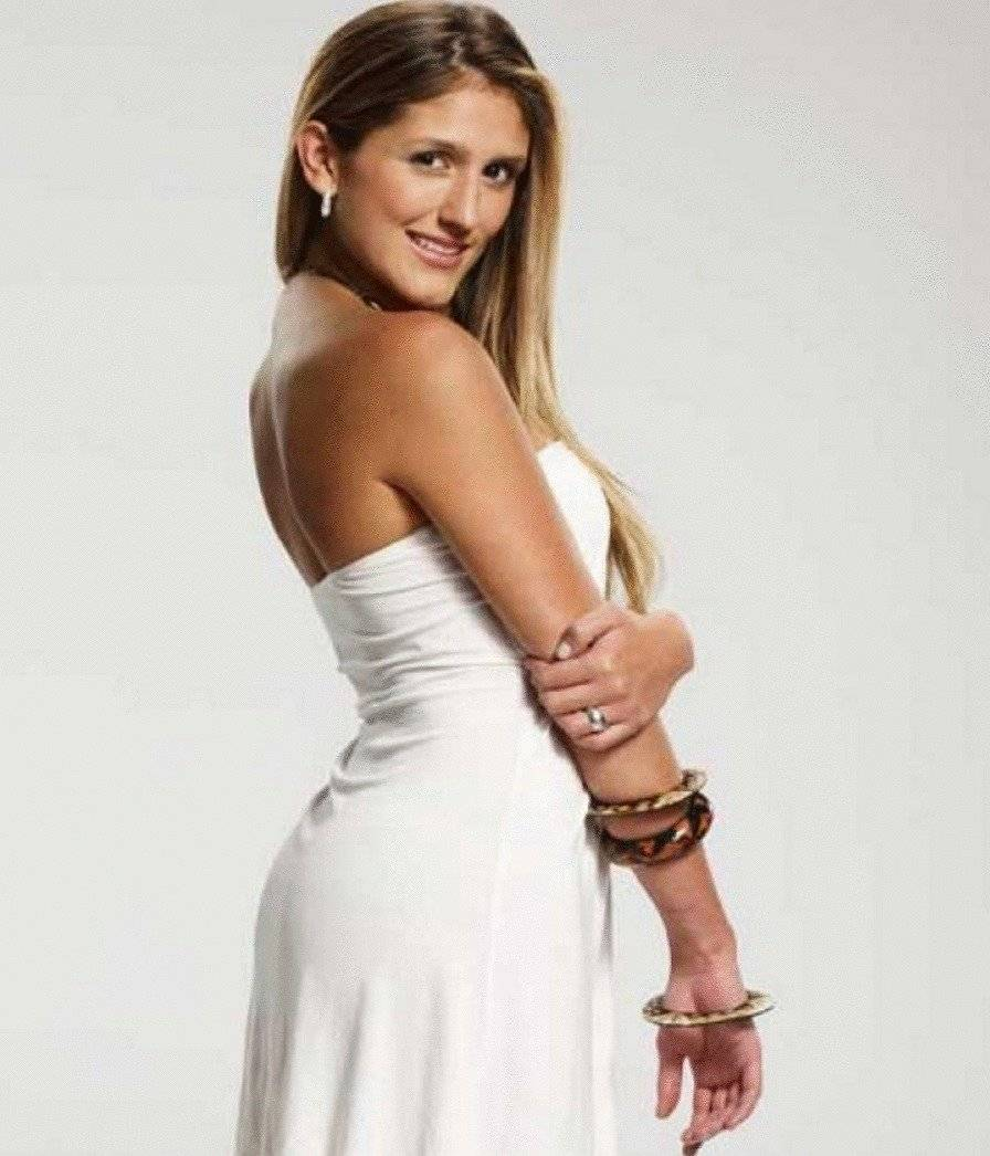 """""""Pamela Rojas"""", interpretada por Andrea Gómez. Internet"""