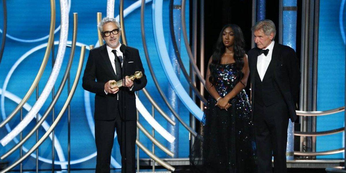 """""""Roma"""" gana como Mejor película extranjera y Mejor director en los Globos de Oro 2019"""