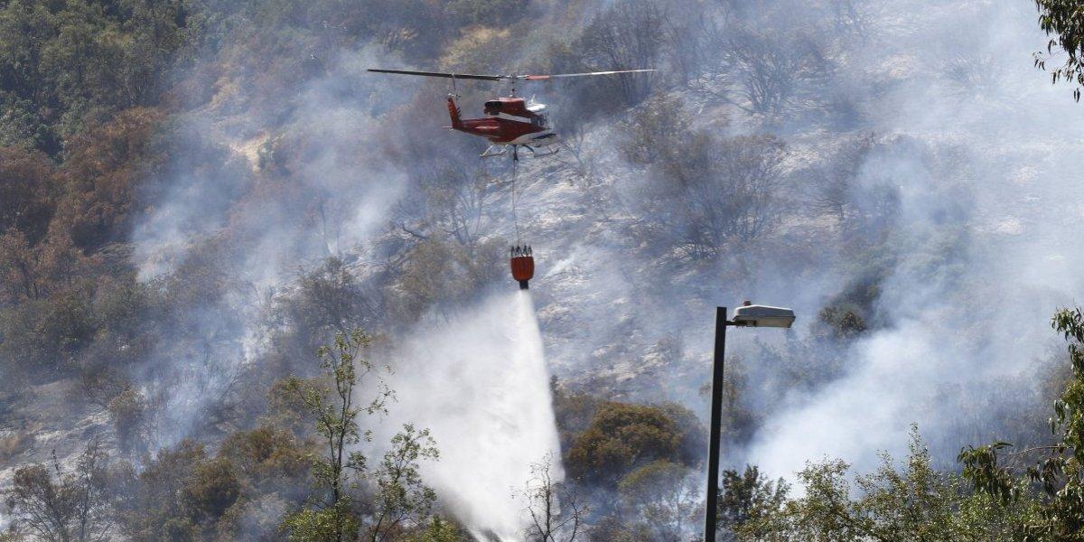 Pésimo inicio en temporada de incendios: hay 2.800 hectáreas quemadas más que en el arranque de año anterior y seis regiones están en rojo