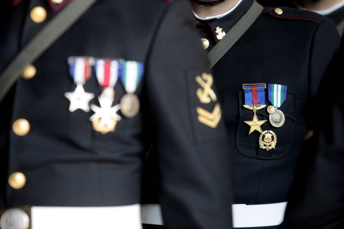Reservistas condecorados