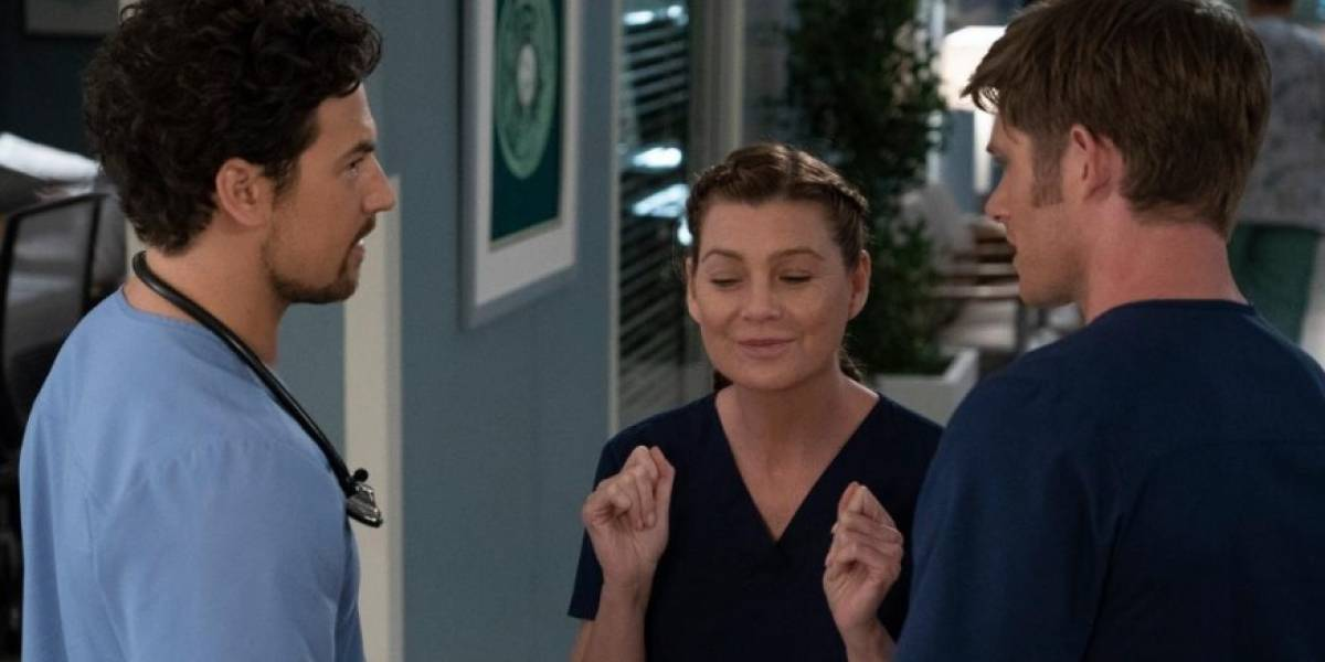 Grey's Anatomy: Meredith, Link e DeLuca intensificam triangulo amoroso
