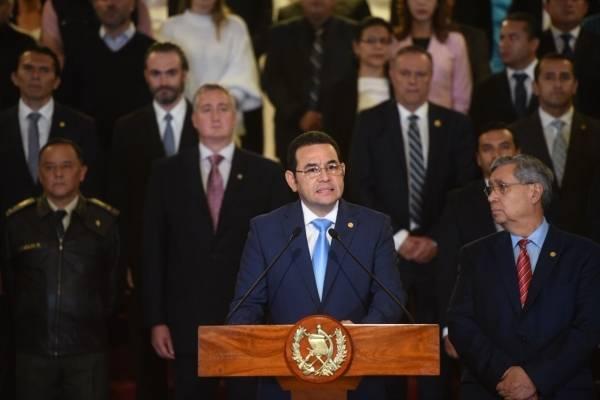 Presidente Jimmy Morales da por terminado el mandato de la CICIG.