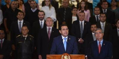 presidente Jimmy Morales da por terminado el mandato de la CICIG