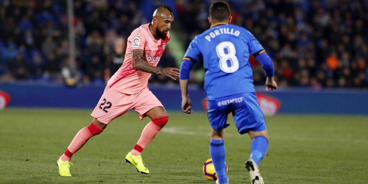 """""""Un día más en la oficina"""": La prensa española valora la entrega de Arturo Vidal en triunfo de Barcelona"""