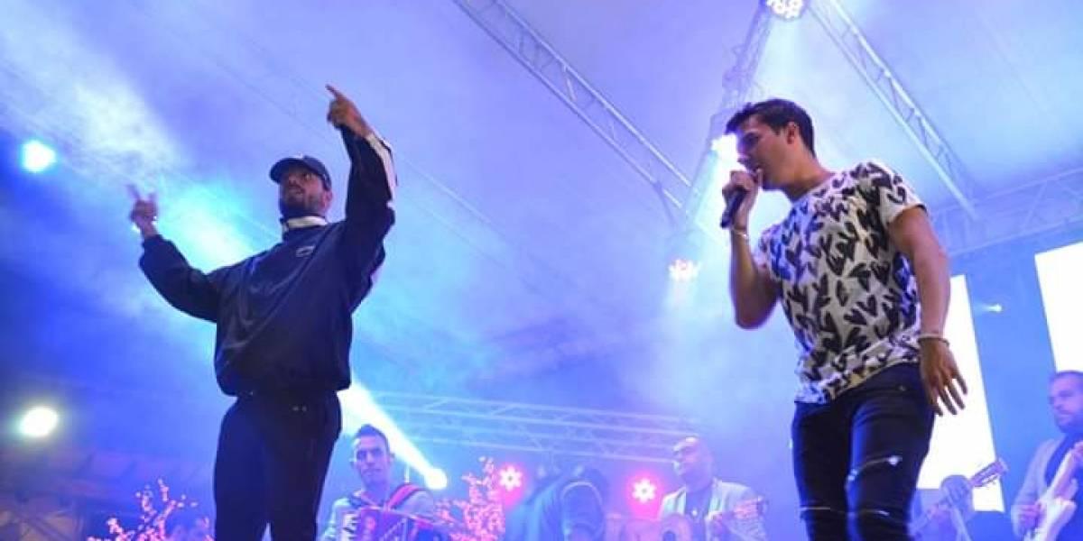 La increíble sorpresa de Maluma a pueblo de Antioquia que estaba de fiestas