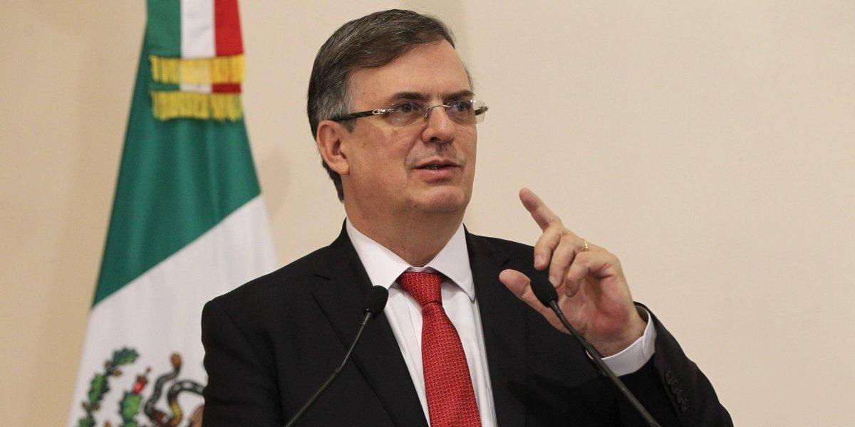 Marcelo Ebrard insta a rediseñar la política exterior mexicana