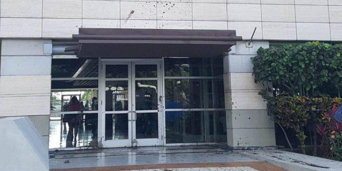 Lanzan excrementos a sede de la Suprema Corte de Justicia