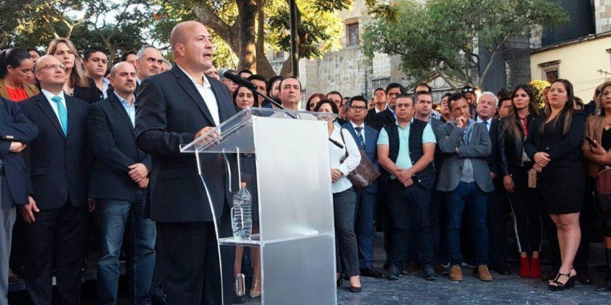 Gobernador de Jalisco pide a Pemex 'dar la cara' por cierre de ductos