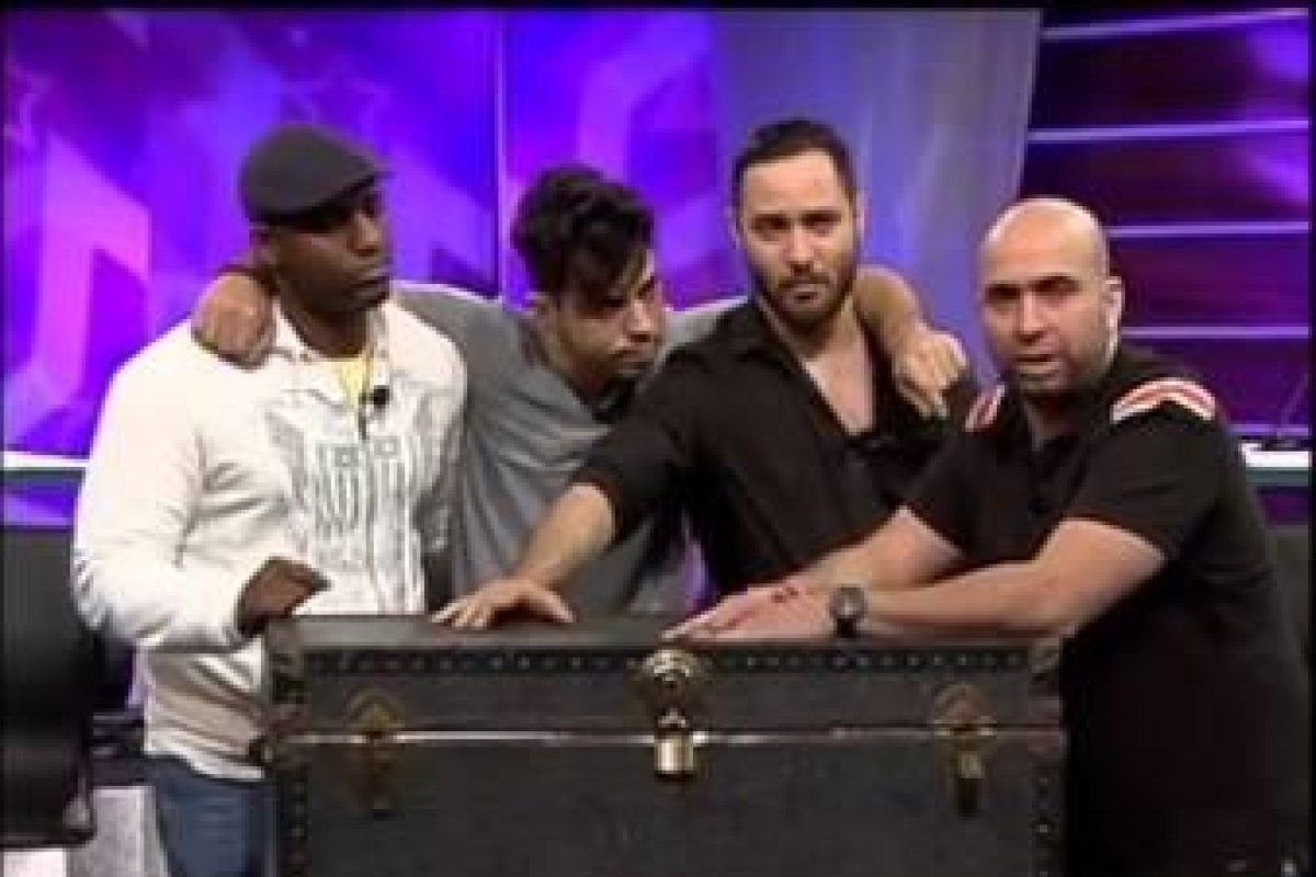 Enrique, Javier, Raeldo e Irving Alberti